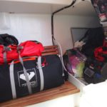 Liferaft and abandon ship bag - to starboard!